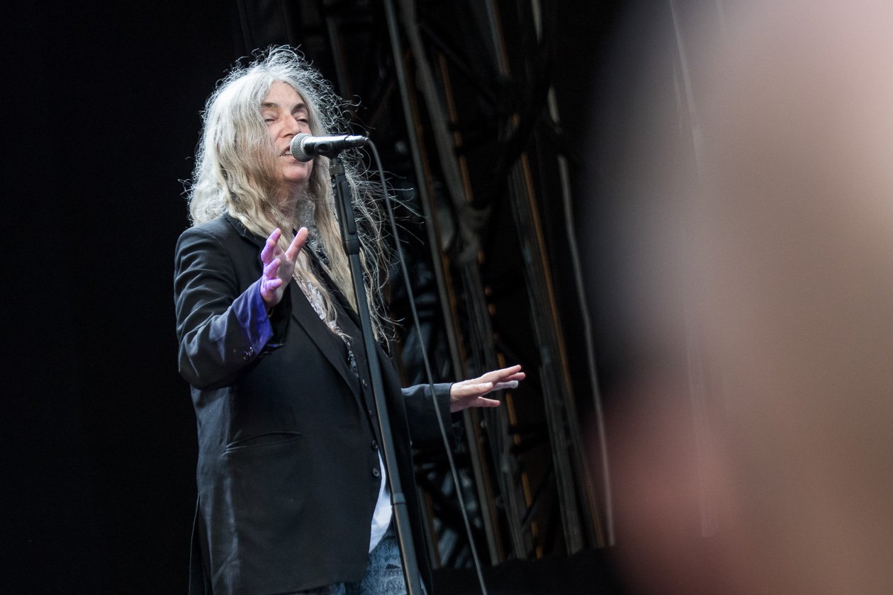 Eine Musiklegende direkt am Dom. – Patti Smith.
