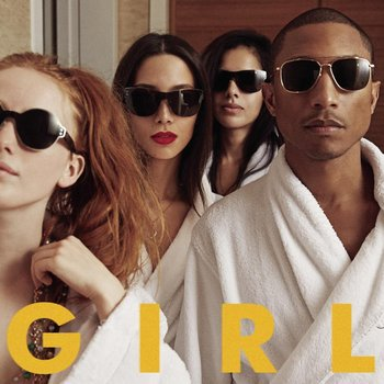 Pharrell Williams - G I R L Artwork