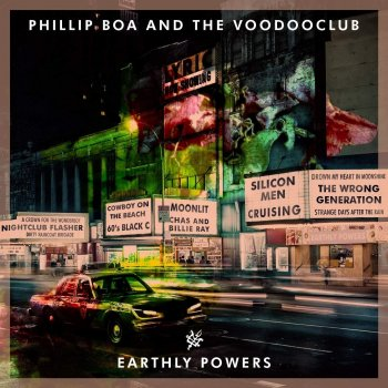 Phillip Boa & The Voodooclub - Earthly Powers Artwork