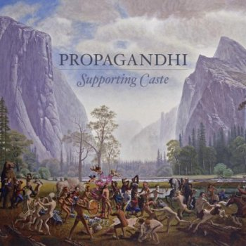 Propagandhi - Supporting Caste Artwork