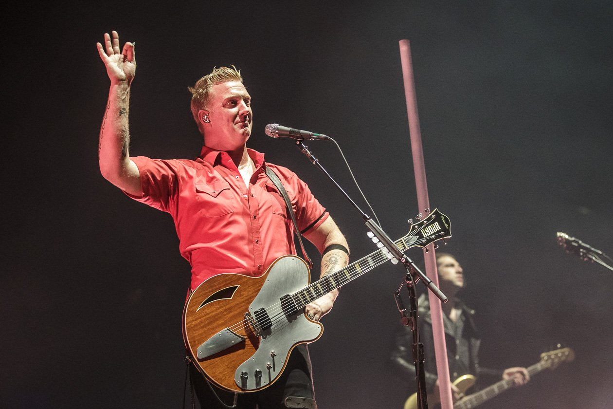 Queens Of The Stone Age – Josh Homme und Gang in Deutschland. – Josh.