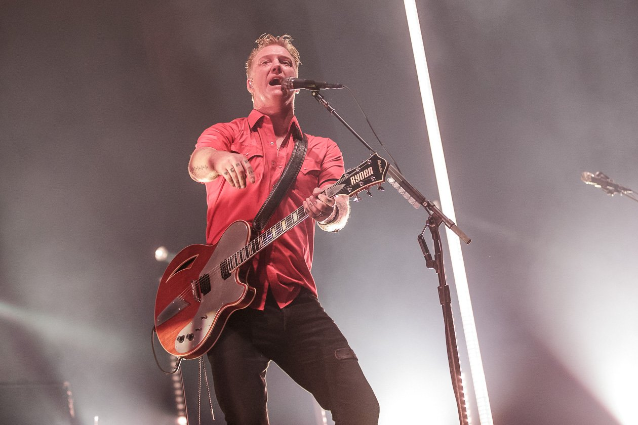 Queens Of The Stone Age – Josh Homme und Gang in Deutschland. – Josh Homme.