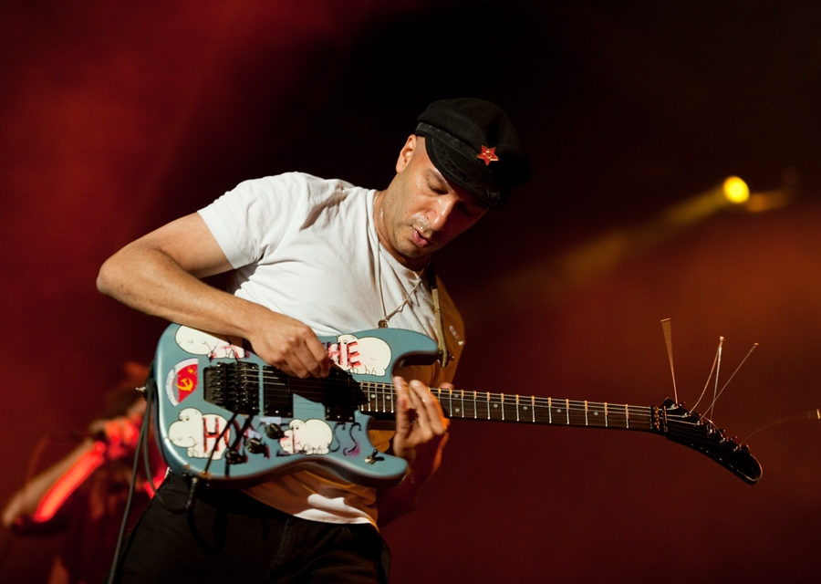 Rage Against The Machine – RATM als Headliner bei Rock Am Ring 2010 – Tom Morello.