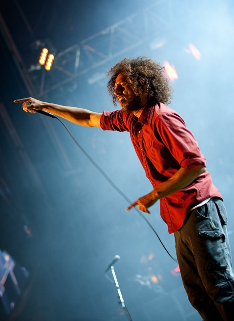 Rage Against The Machine – Zack De La Rocha.