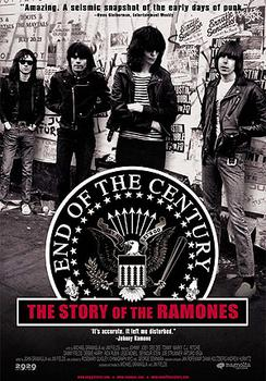 Ramones - End Of The Century - The Story Of The Ramones Artwork