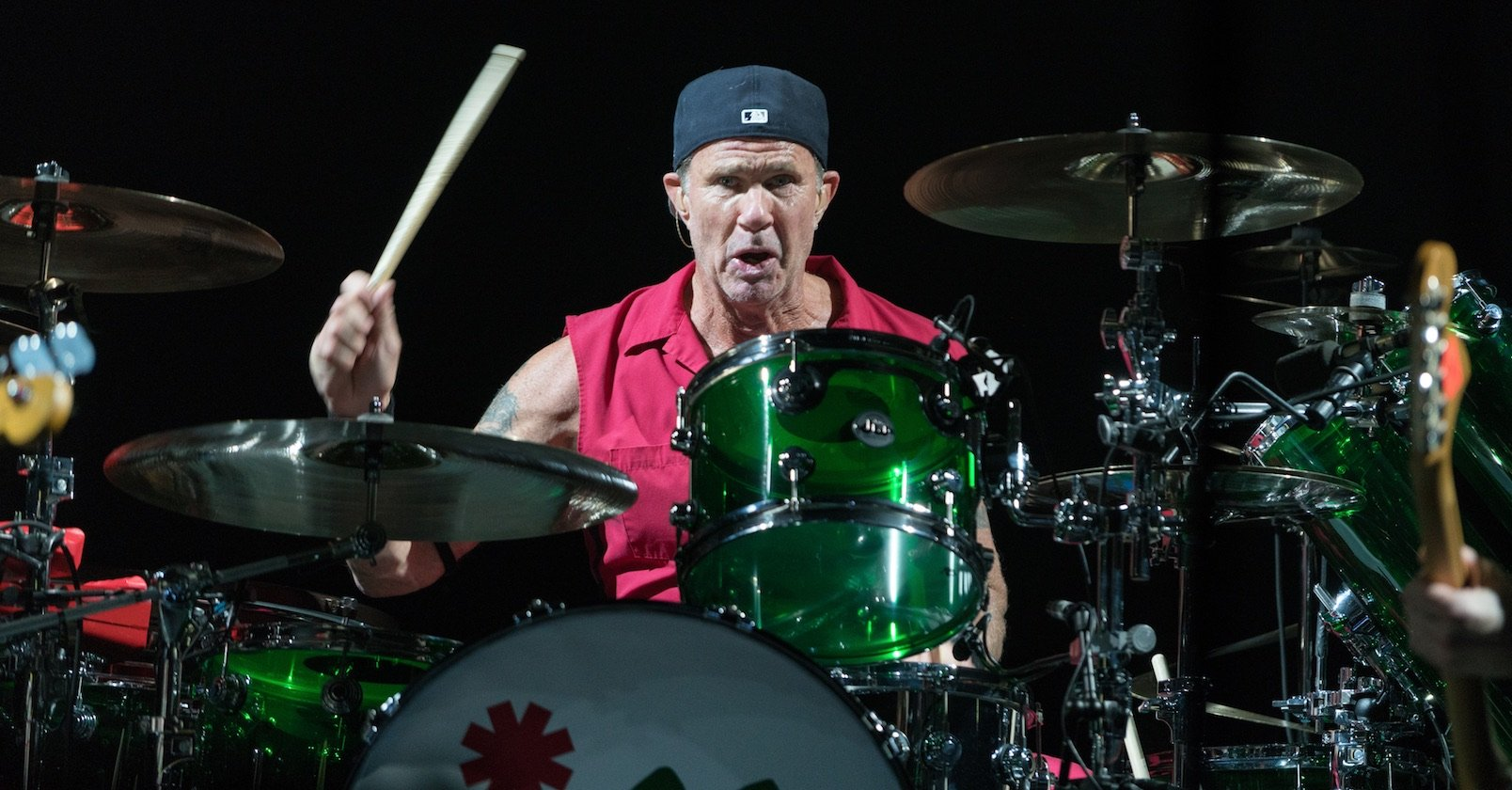 Red Hot Chili Peppers – Viel Live-Spaß mit den Chili Peppers in der Hauptstadt. – Part of Drum History: Chad Smith.