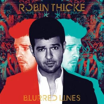 Robin Thicke - Blurred Lines Artwork