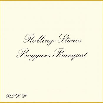 Rolling Stones - Beggars Banquet (50th Anniversary Edition) Artwork
