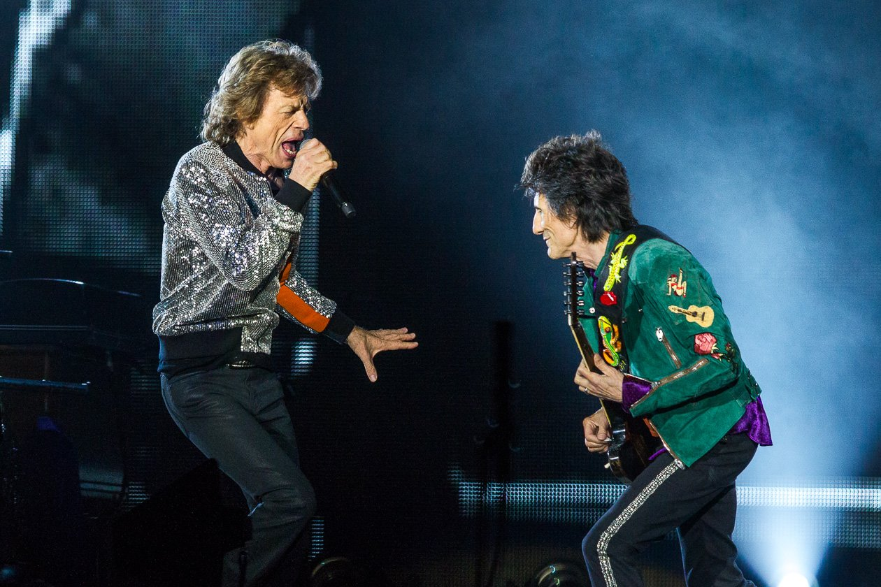 "Rolling Stones – ... spielten die Stones Klassiker wie ""Play With Fire"" oder ""Under My Thumb""."
