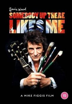 Ronnie Wood - Somebody Up There Likes Me Artwork