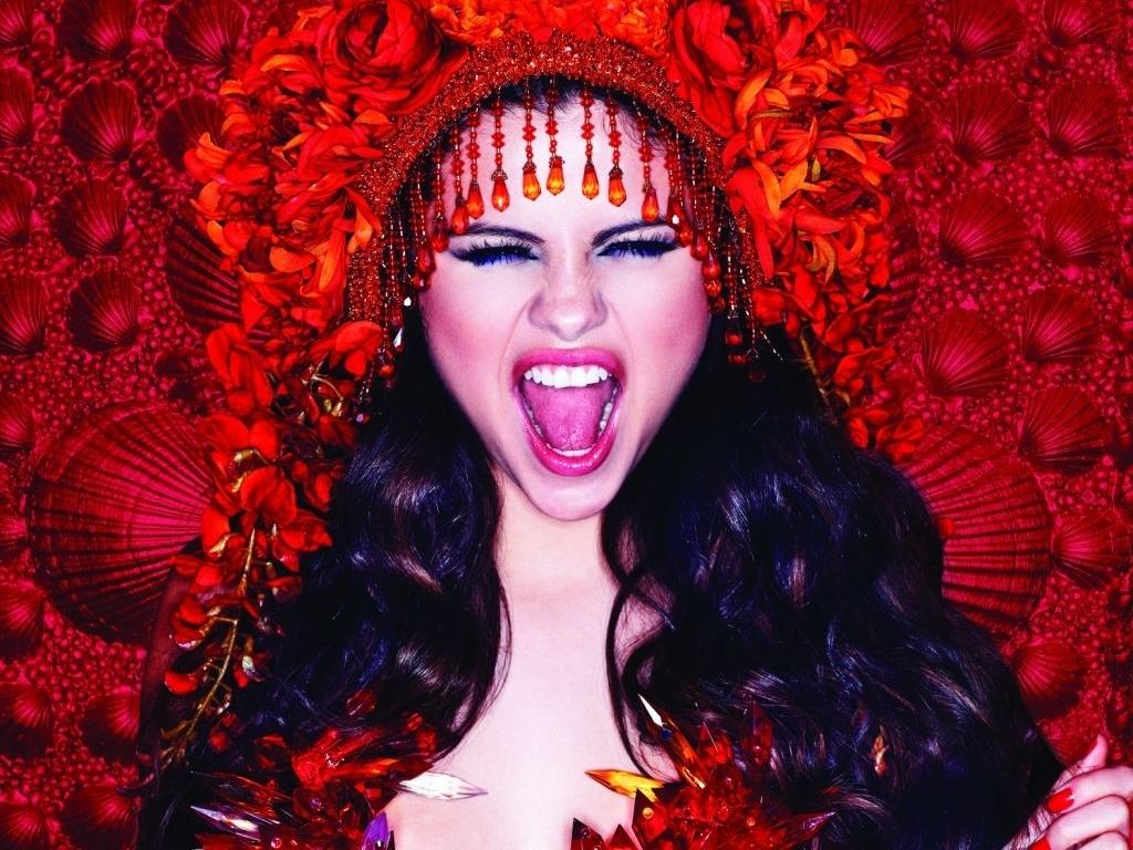 Selena Gomez On Barney  Hot Girl Hd Wallpaper-8216