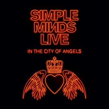 Simple Minds - Live In The City Of Angels Artwork
