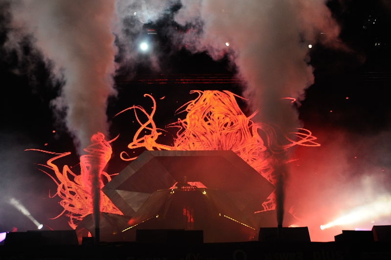 Skrillex – Skrillex, Rock am Ring 2012