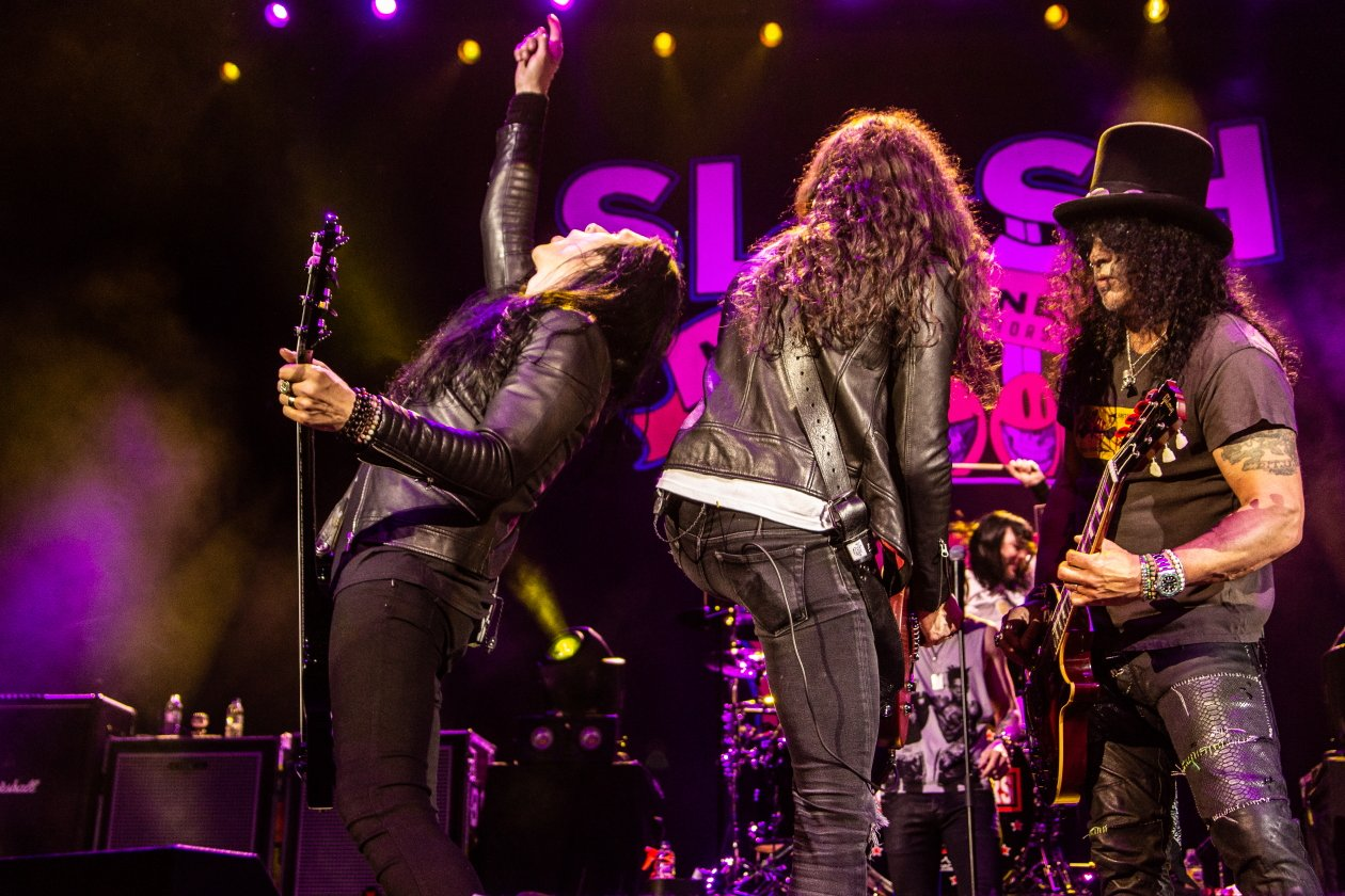 "Slash – ""Living The Dream"" mit Myles Kennedy und den Conspirators. – Die Conspirators."