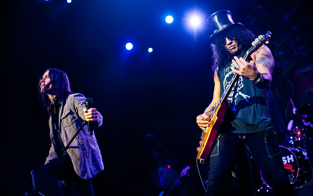 Slash mit Myles Kennedy: Rock das E-Werk! – Slash und Myles Kennedy.