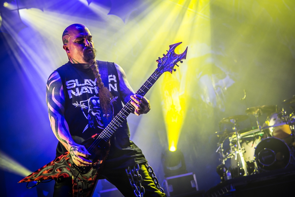 Slayer – Im Powerpack mit Anthrax und Kvelertak. – And Mr. King.