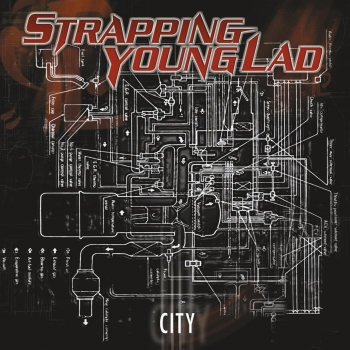 Strapping Young Lad - City Artwork