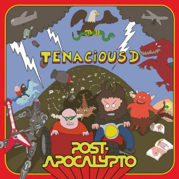 Tenacious D - Post-Apocalypto Artwork
