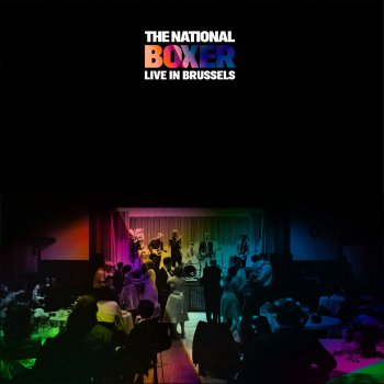 The National - Boxer (Live In Brussels) Artwork