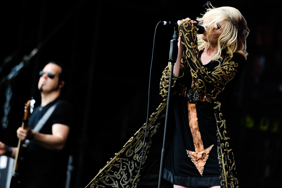 The Pretty Reckless – Frontgirl Taylor Momsen und Band in full effect. – Mark Damon und Taylor.