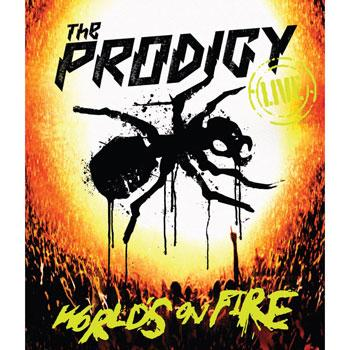 The Prodigy - World's On Fire Artwork