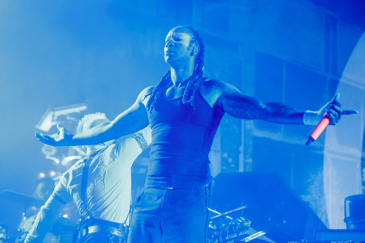 Am Festivalsamstag on stage and on fire! – The Prodigy.