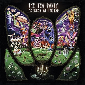 The Tea Party - The Ocean At The End Artwork