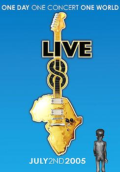 Various Artists - Live 8 - One Day One Concert One World Artwork