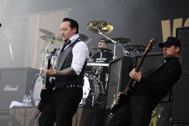 Volbeat Volbeat Bei Rock Am Ring 2009 610 Die Dänen Gaben