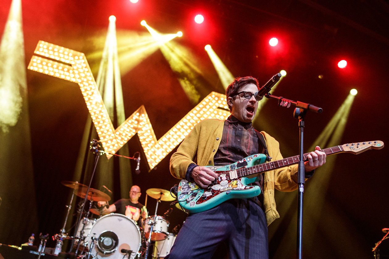 Weezer – Rivers Cuomo.