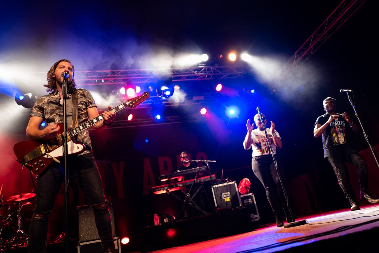 Die Welshly Arms auf Tour in Deutschland – Welshly Arms live beim Zeltfestival Bochum 2018