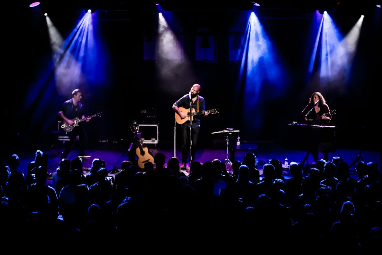 Im Live-Doppelpack mit Josuha Radin – William Fitzsimmons.