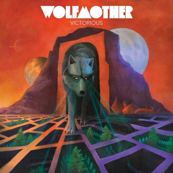 Wolfmother - Victorious Artwork