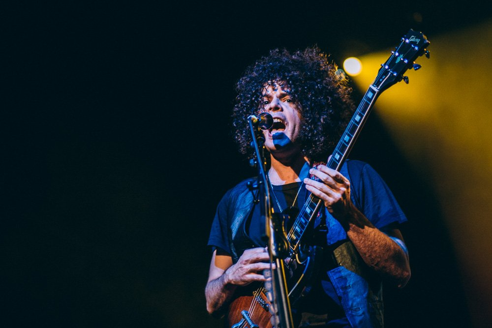 Wolfmother – Andrew Stockdale und Co. in full effect! – Andrew in Köln.
