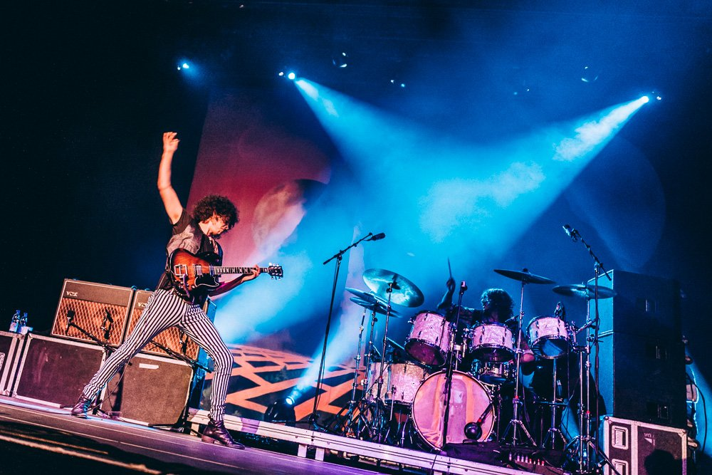 Wolfmother – Andrew Stockdale und Co. in full effect! – Andrew und Schlagzeuger Myles.