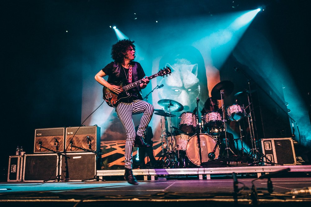 Wolfmother – Andrew Stockdale und Co. in full effect! – Andrew Stockdale.
