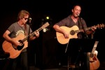 Best-Of-Akustik-Gig in der Warner Music Lounge., Dave Matthews / Tim Reynolds live | © Warner (Fotograf: Katja Ruge)