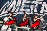 Voller Einsatz on stage: Metal à la Japan., Rock im Revier 2015 | © laut.de (Fotograf: Lars Krüger)