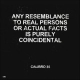 Calibro 35 - Any Resemblance To Real Persons ...