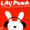Lali Puna - I Thought I Was Over That: Album-Cover