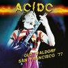 AC/DC - Old Waldorf San Francisco '77: Album-Cover