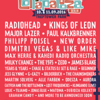 Lollapalooza – Mit Radiohead, Kings Of Leon, Major Lazer