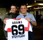 Bryan Adams: Daumen drücken für den VfB